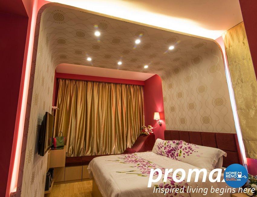 Classical, Modern Design - Bedroom - Condominium - Design by Promax Design Pte Ltd
