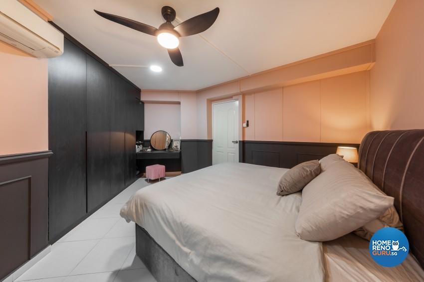 Modern Design - Bedroom - HDB 4 Room - Design by Promax Design Pte Ltd
