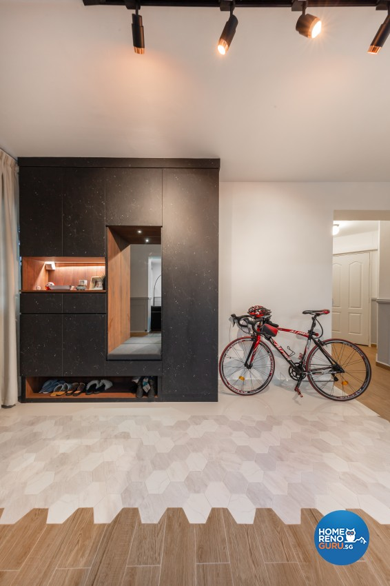 Modern Design - Living Room - HDB 4 Room - Design by Promax Design Pte Ltd