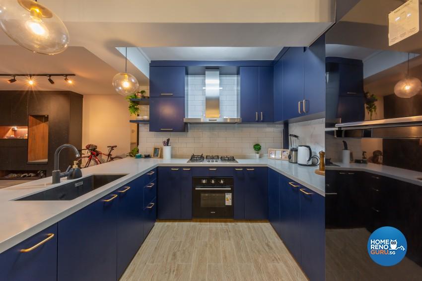 Modern Design - Kitchen - HDB 4 Room - Design by Promax Design Pte Ltd