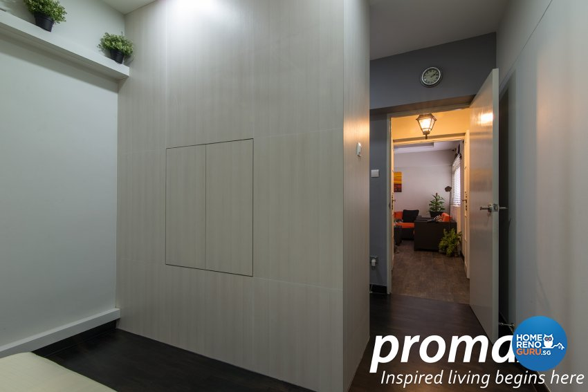 Contemporary, Victorian Design - Bedroom - HDB Executive Apartment - Design by Promax Design Pte Ltd