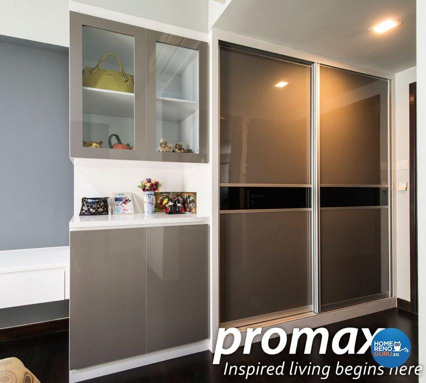 Modern, Rustic Design - Bedroom - Condominium - Design by Promax Design Pte Ltd