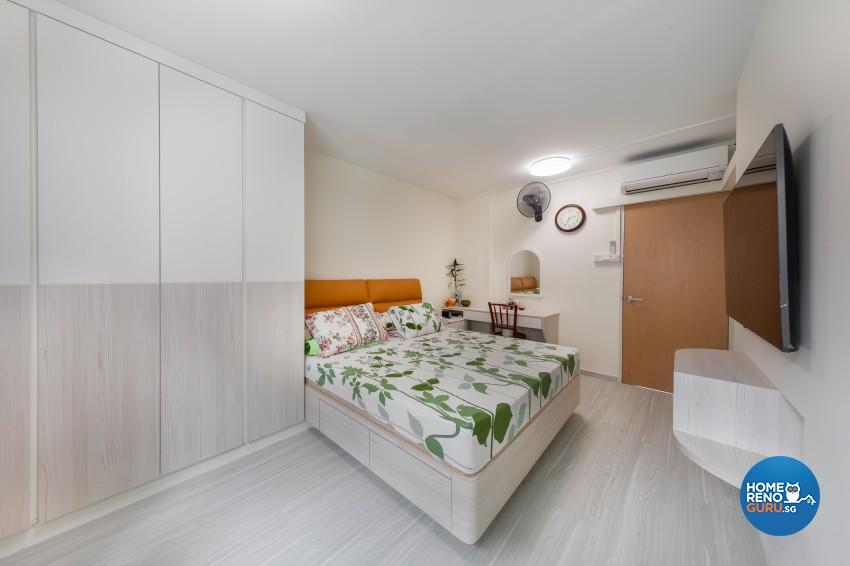 Modern, Scandinavian Design - Bedroom - HDB 4 Room - Design by Promax Design Pte Ltd