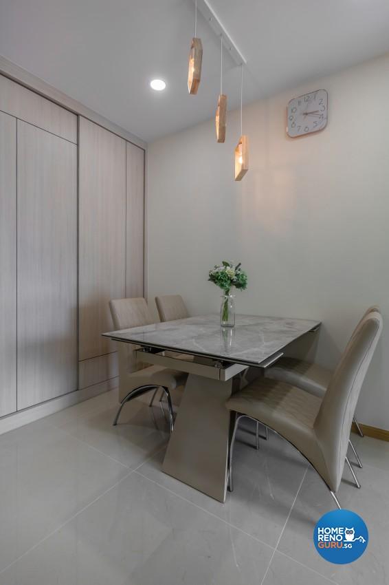 Modern Design - Dining Room - Condominium - Design by Promax Design Pte Ltd