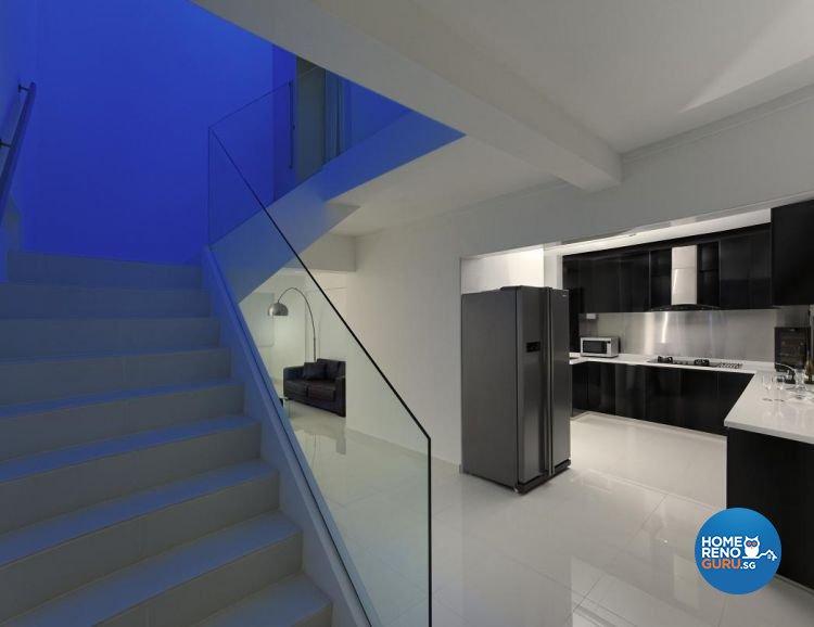 Minimalist, Modern Design - Kitchen - Landed House - Design by Promax Design Pte Ltd
