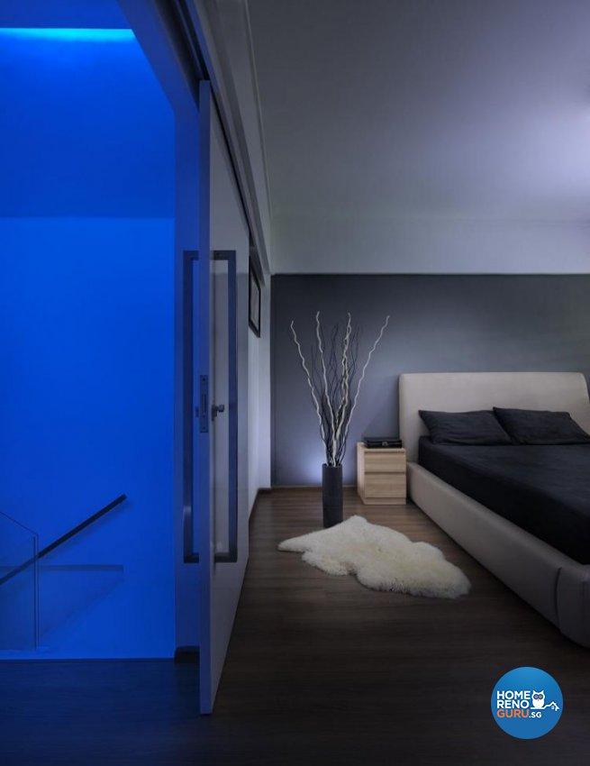 Minimalist, Modern Design - Bedroom - Landed House - Design by Promax Design Pte Ltd