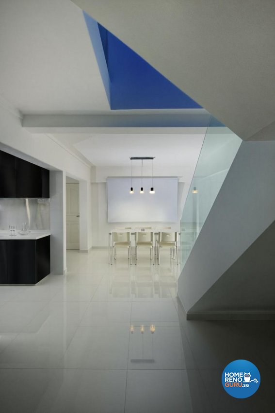 Minimalist, Modern Design - Dining Room - Landed House - Design by Promax Design Pte Ltd