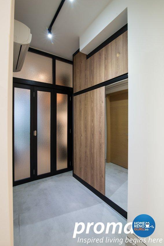 Industrial, Modern Design - Living Room - Condominium - Design by Promax Design Pte Ltd