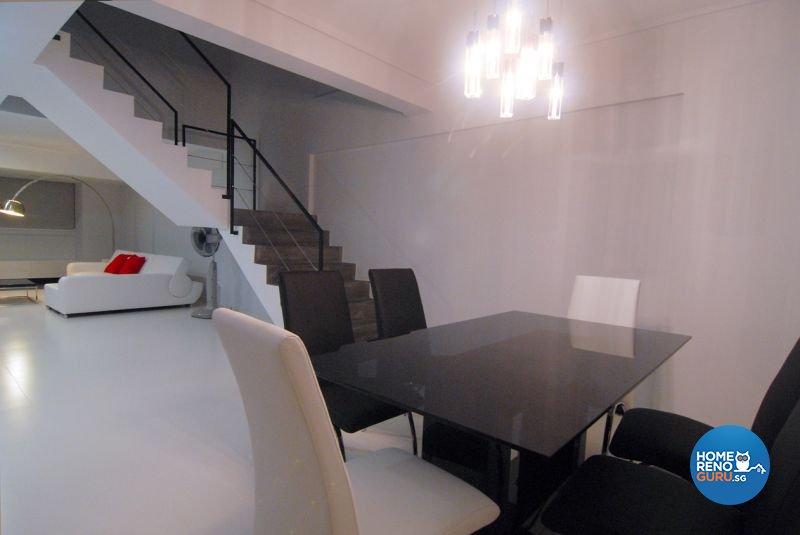 Minimalist, Modern Design - Dining Room - HDB 5 Room - Design by Promax Design Pte Ltd
