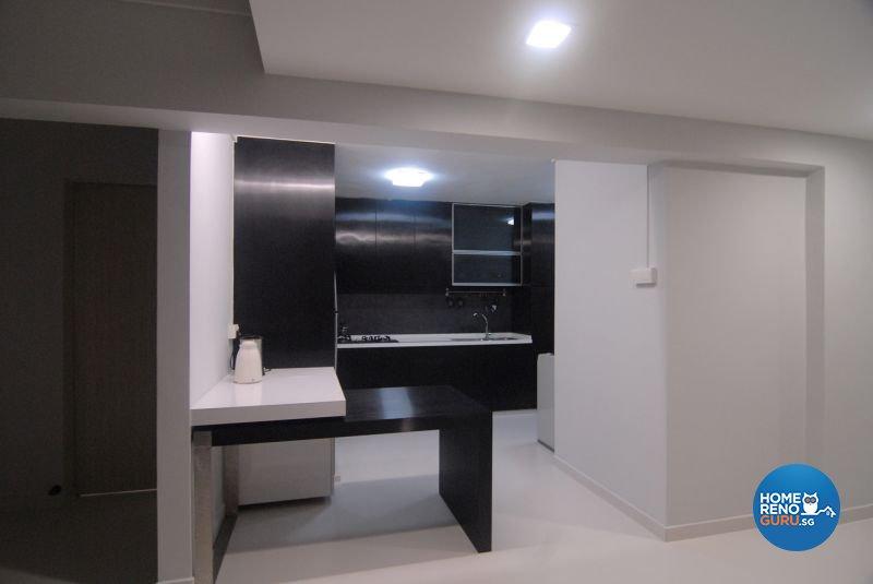 Minimalist, Modern Design - Kitchen - HDB 5 Room - Design by Promax Design Pte Ltd
