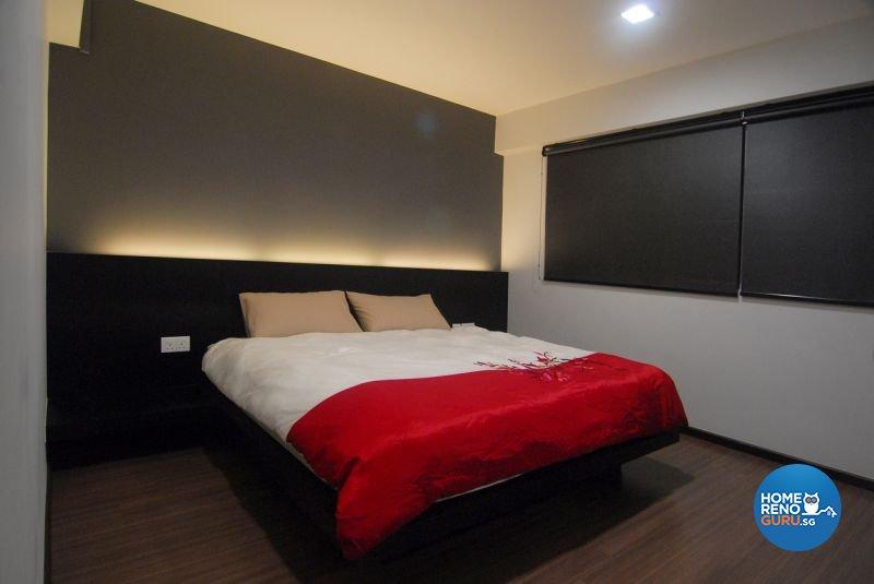 Minimalist, Modern Design - Bedroom - HDB 5 Room - Design by Promax Design Pte Ltd