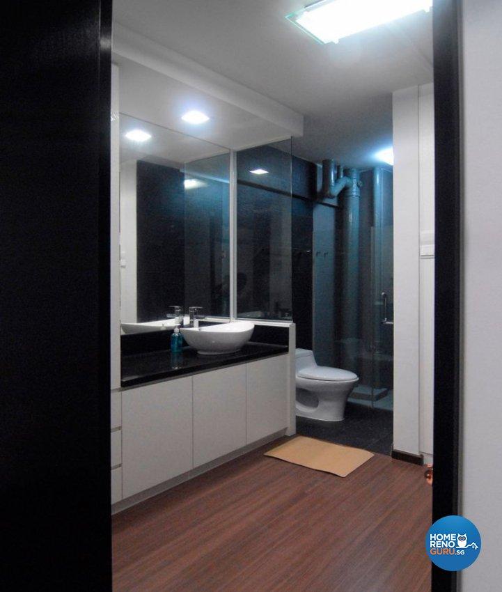 Minimalist, Modern Design - Bathroom - HDB 5 Room - Design by Promax Design Pte Ltd