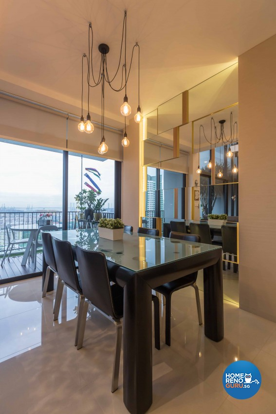 Contemporary, Modern Design - Dining Room - Condominium - Design by Prozfile Pte Ltd