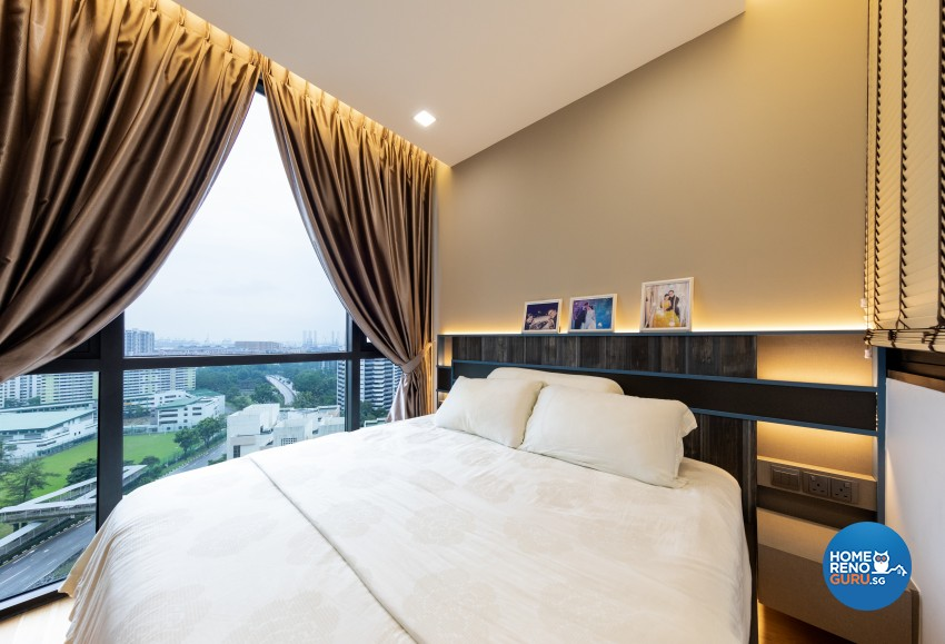 Eclectic, Modern Design - Bedroom - Condominium - Design by Prozfile Pte Ltd