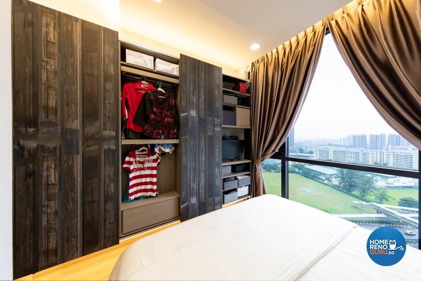 Eclectic, Modern Design - Bedroom - Condominium - Design by Prozfile Pte Ltd