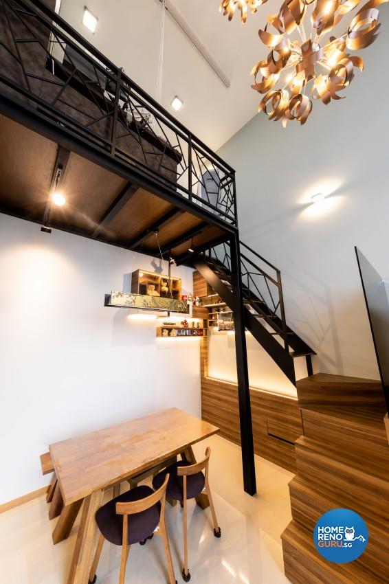 Eclectic, Modern Design - Dining Room - Condominium - Design by Prozfile Pte Ltd