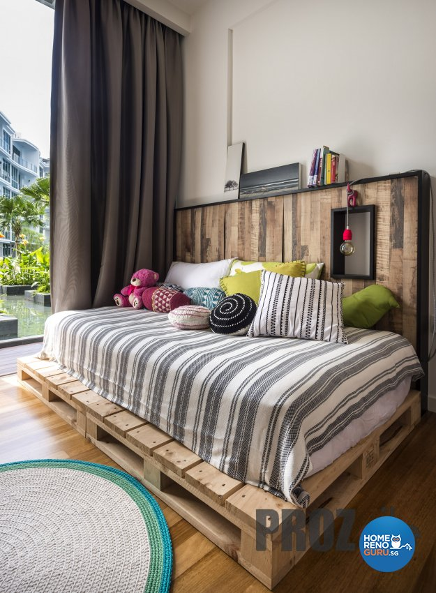 Scandinavian Design - Bedroom - Condominium - Design by Prozfile Pte Ltd