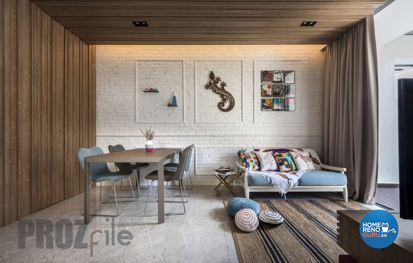 Scandinavian Design - Dining Room - Condominium - Design by Prozfile Pte Ltd