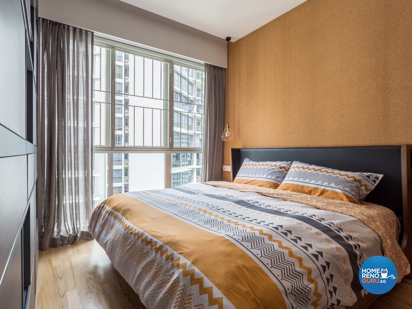 Eclectic, Mediterranean, Modern Design - Bedroom - Condominium - Design by Prozfile Pte Ltd