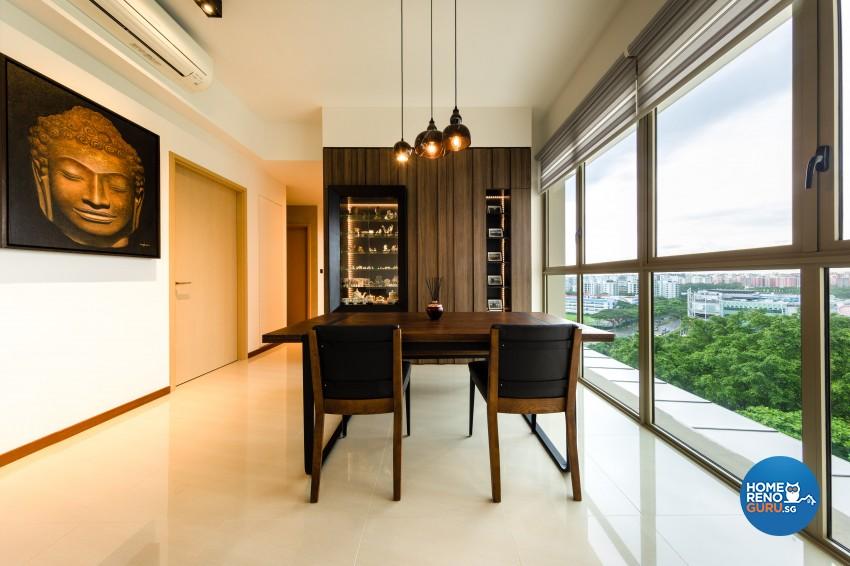 Modern, Scandinavian Design - Dining Room - Condominium - Design by Prozfile Pte Ltd