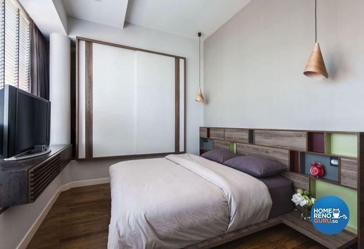 Modern, Scandinavian Design - Bedroom - Landed House - Design by Prozfile Pte Ltd