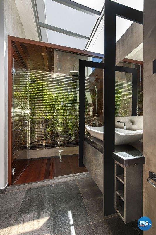 Modern, Scandinavian Design - Bathroom - Landed House - Design by Prozfile Pte Ltd