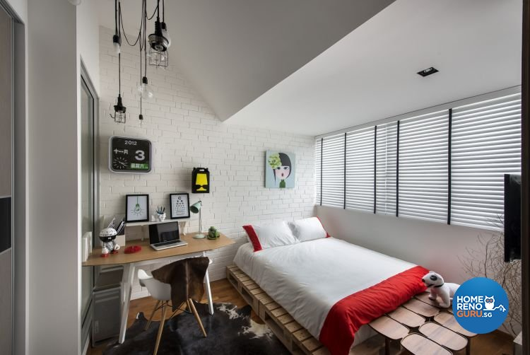 Contemporary, Country Design - Bedroom - Landed House - Design by Prozfile Pte Ltd