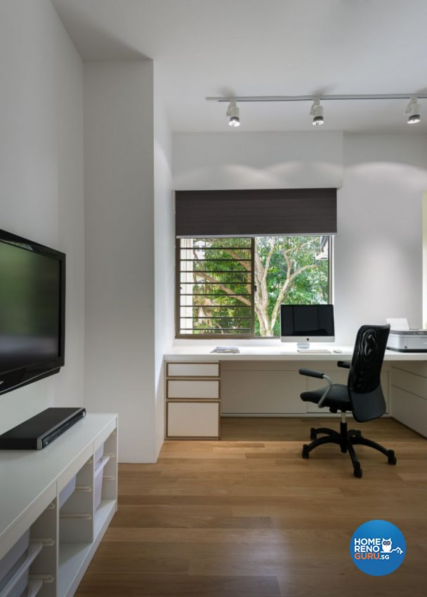 Contemporary, Modern Design - Study Room - Condominium - Design by Prozfile Pte Ltd