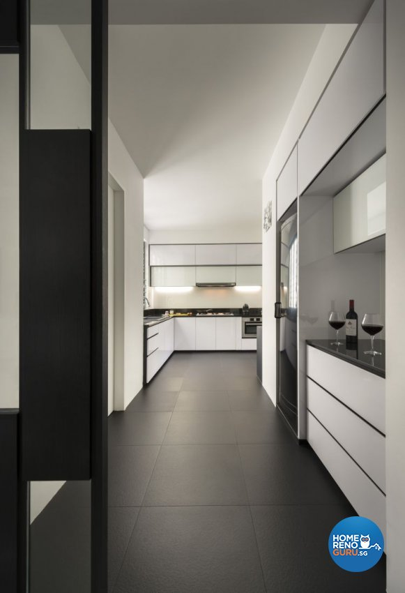 Contemporary, Modern Design - Kitchen - Condominium - Design by Prozfile Pte Ltd