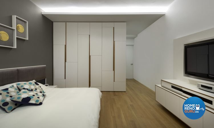 Contemporary, Modern Design - Bedroom - Condominium - Design by Prozfile Pte Ltd