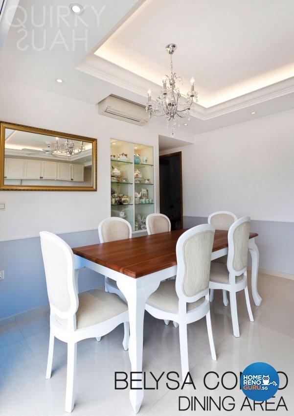 Classical, Modern Design - Dining Room - Condominium - Design by Quirky Haus Pte Ltd