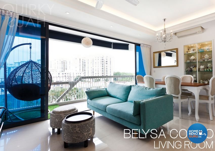 Classical, Modern Design - Living Room - Condominium - Design by Quirky Haus Pte Ltd