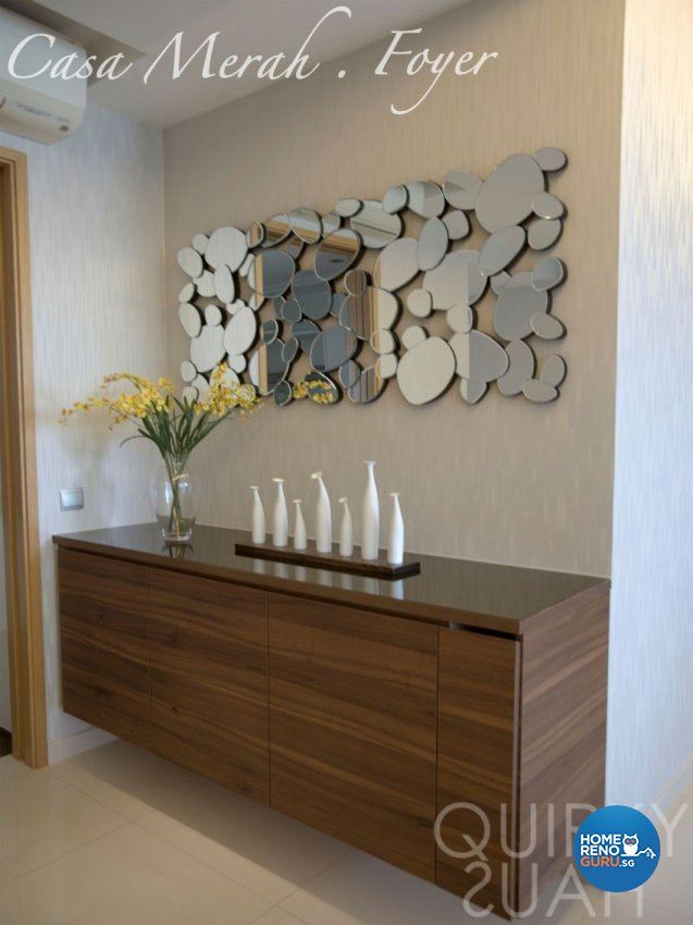 Contemporary, Modern Design - Living Room - Condominium - Design by Quirky Haus Pte Ltd