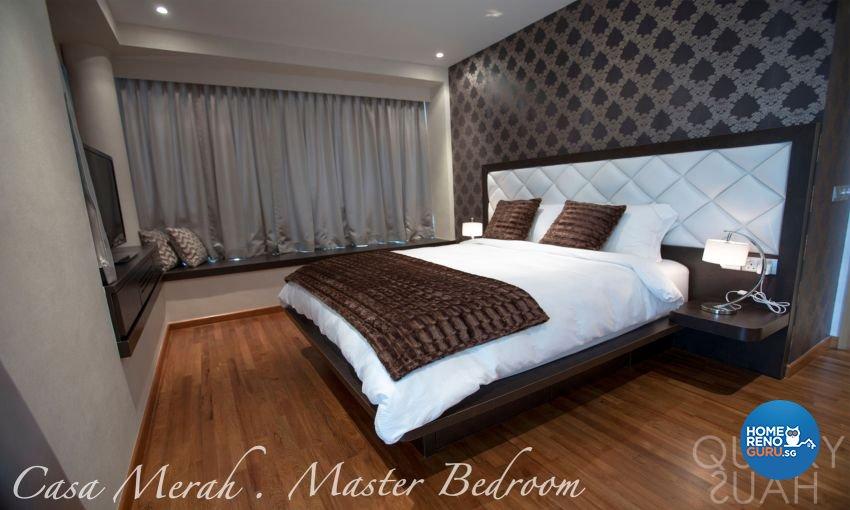 Contemporary, Modern Design - Bedroom - Condominium - Design by Quirky Haus Pte Ltd