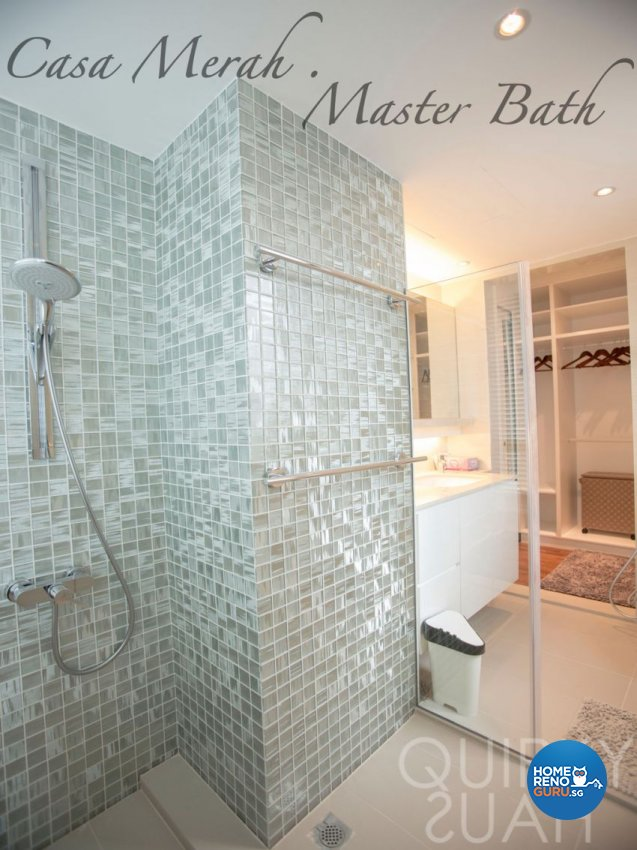 Contemporary, Modern Design - Bathroom - Condominium - Design by Quirky Haus Pte Ltd