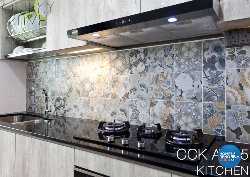 Contemporary, Modern Design - Kitchen - HDB 5 Room - Design by Quirky Haus Pte Ltd