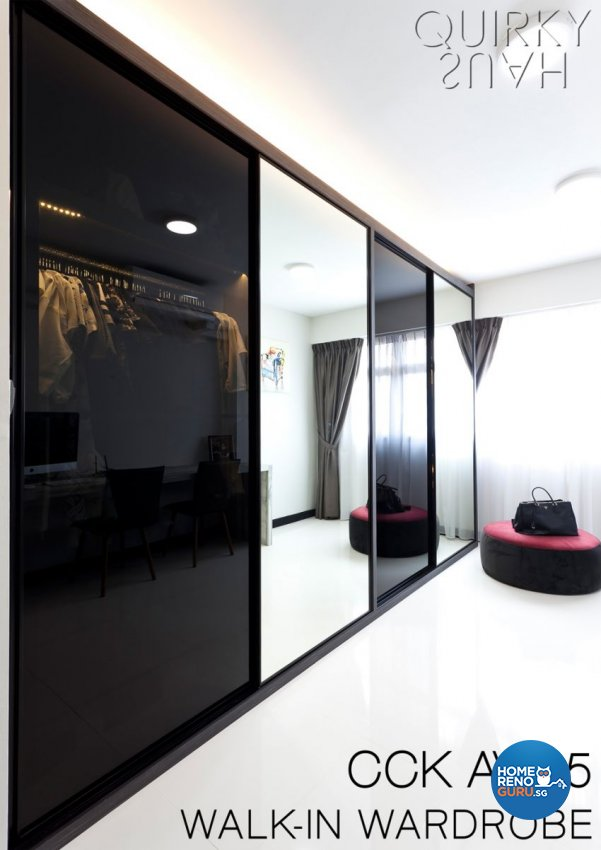 Contemporary, Modern Design - Bedroom - HDB 5 Room - Design by Quirky Haus Pte Ltd