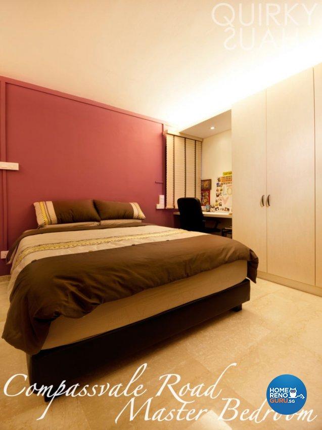 Industrial, Scandinavian Design - Bedroom - HDB 4 Room - Design by Quirky Haus Pte Ltd