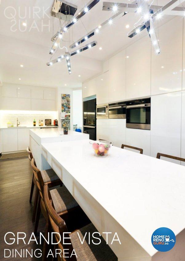 Minimalist, Modern Design - Kitchen - Condominium - Design by Quirky Haus Pte Ltd