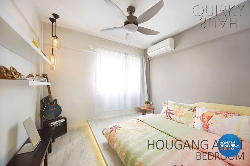 Scandinavian Design - Bedroom - HDB 3 Room - Design by Quirky Haus Pte Ltd