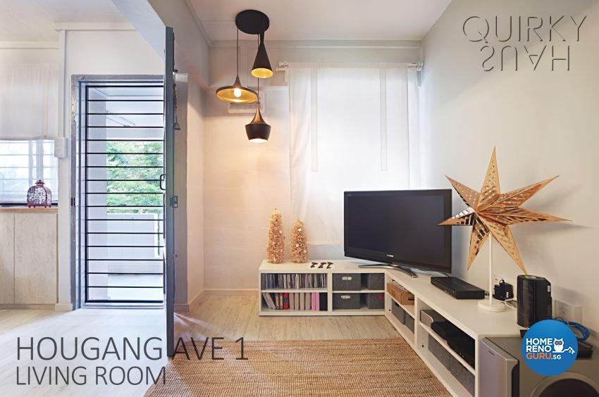 Scandinavian Design - Living Room - HDB 3 Room - Design by Quirky Haus Pte Ltd