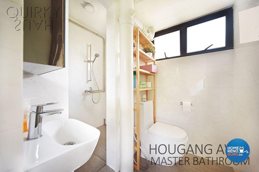 Scandinavian Design - Bathroom - HDB 3 Room - Design by Quirky Haus Pte Ltd
