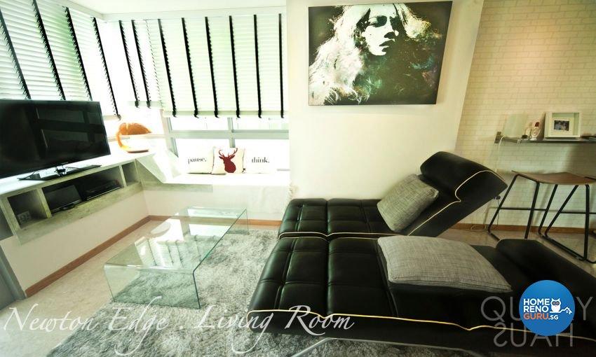 Modern, Scandinavian Design - Living Room - Condominium - Design by Quirky Haus Pte Ltd