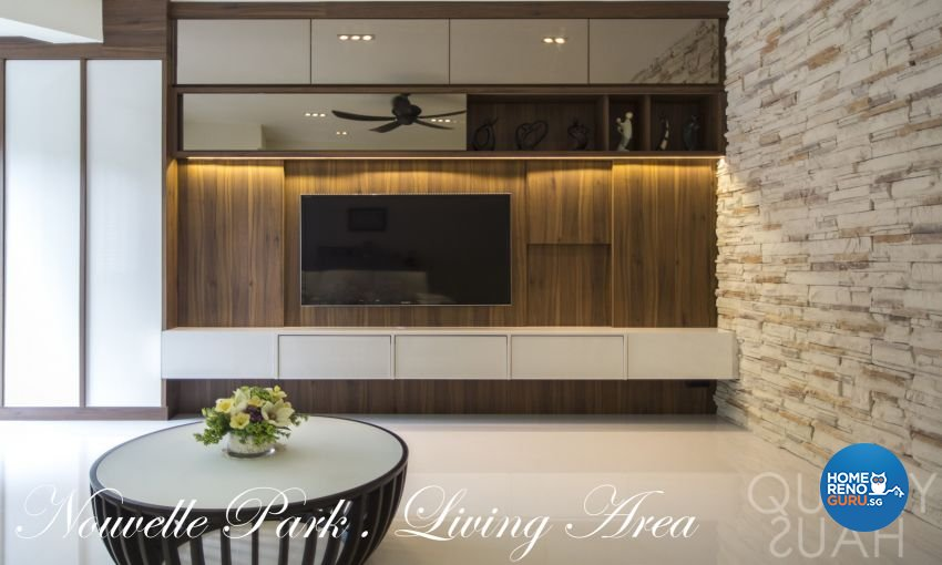 Contemporary, Modern Design - Living Room - Condominium - Design by Quirky Haus Pte Ltd