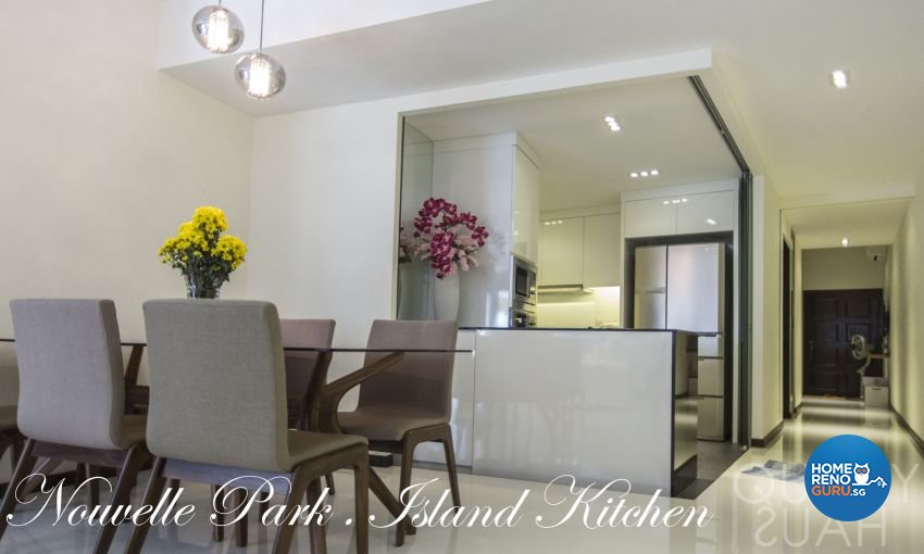 Contemporary, Modern Design - Dining Room - Condominium - Design by Quirky Haus Pte Ltd