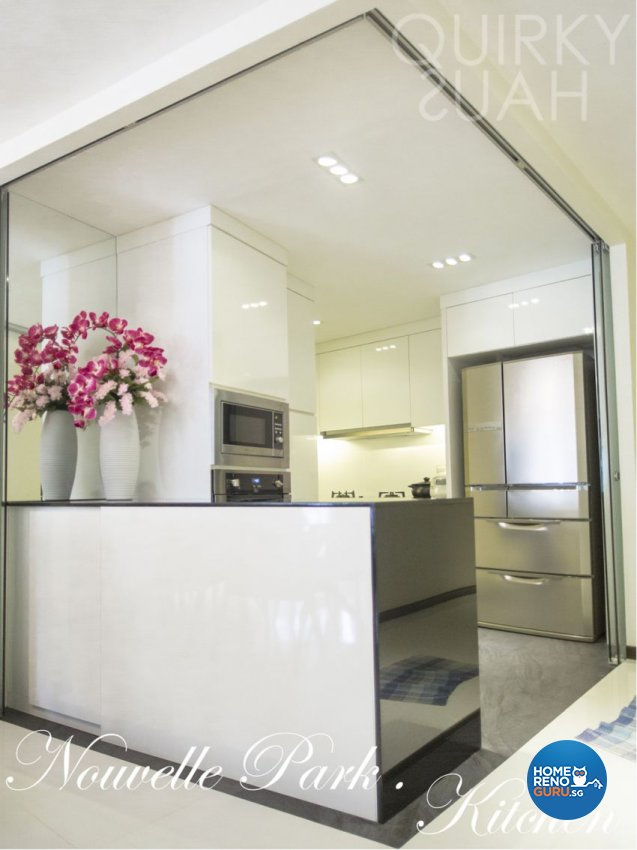 Contemporary, Modern Design - Kitchen - Condominium - Design by Quirky Haus Pte Ltd