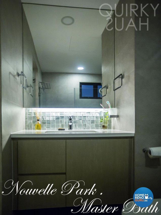 Contemporary, Modern Design - Bathroom - Condominium - Design by Quirky Haus Pte Ltd