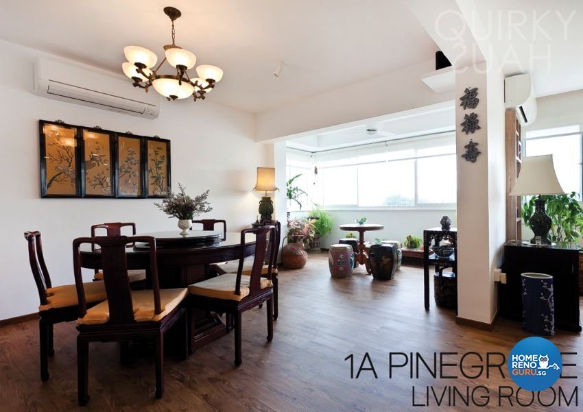 Modern, Vintage Design - Dining Room - Condominium - Design by Quirky Haus Pte Ltd