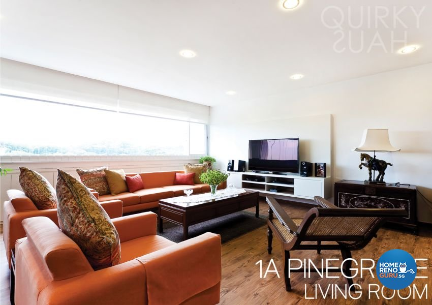 Modern, Vintage Design - Living Room - Condominium - Design by Quirky Haus Pte Ltd