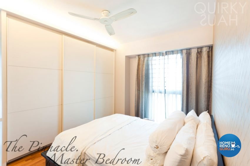 Modern Design - Bedroom - HDB 4 Room - Design by Quirky Haus Pte Ltd